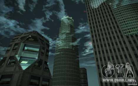Rascacielos de HD para GTA San Andreas sexta pantalla