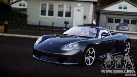 Porsche Carrera GT V1.1 [EPM] para GTA 4 Vista posterior izquierda