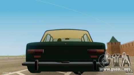 VAZ 2101 baja & Classic para GTA San Andreas vista posterior izquierda