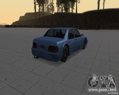 Máquinas sin suciedad para GTA San Andreas segunda pantalla