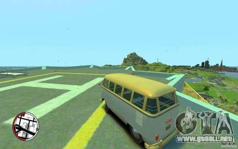 Volkswagen T1 Bus 1967 para GTA 4 left