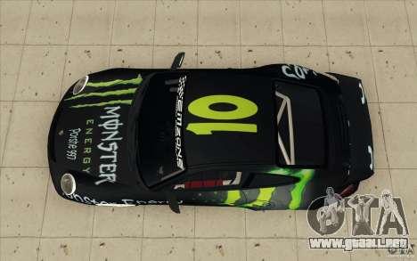 Porsche 997 Rally Edition para la visión correcta GTA San Andreas