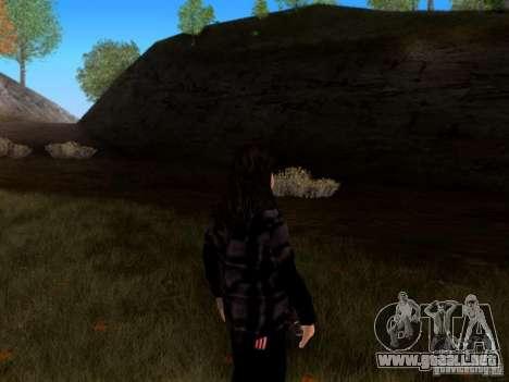 Skrillex para GTA San Andreas segunda pantalla