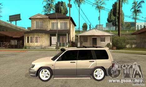 Subaru Forester 1997 año para GTA San Andreas left