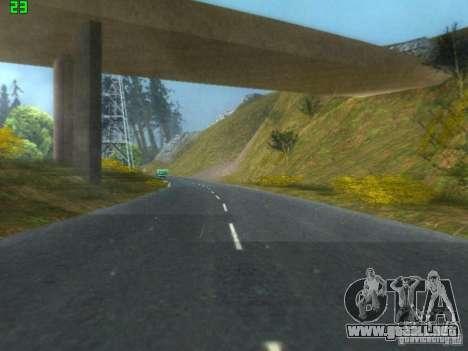 Roads Moscow para GTA San Andreas sucesivamente de pantalla