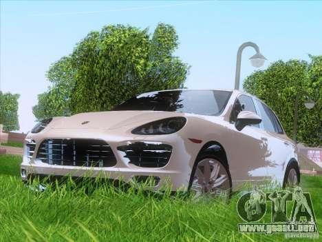 Porsche Cayenne Turbo 958 2011 V2.0 para GTA San Andreas left