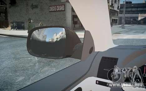 Volkswagen Touareg R50 para GTA 4 interior
