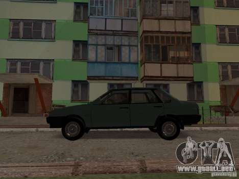 VAZ 21099 CR v. 2 para GTA San Andreas left