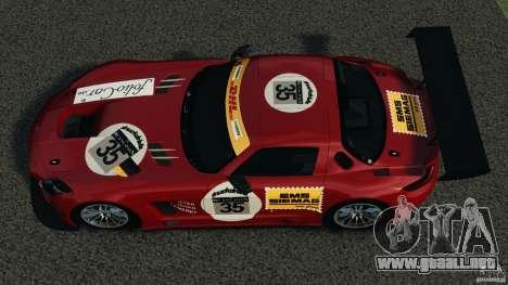Mercedes-Benz SLS AMG GT3 2011 v1.0 para GTA 4 visión correcta