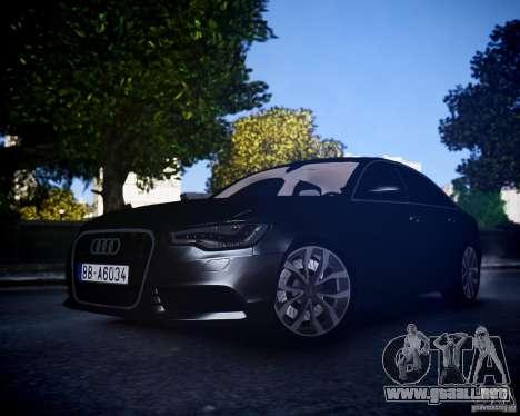 Audi A6 2012 para GTA 4