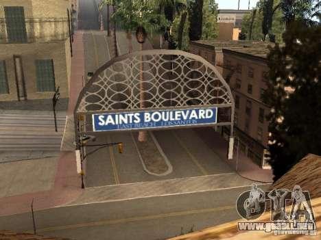 Un nuevo estadio en Los Santos para GTA San Andreas segunda pantalla