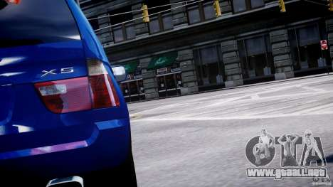 BMW X5 E53 v1.3 para GTA 4 ruedas