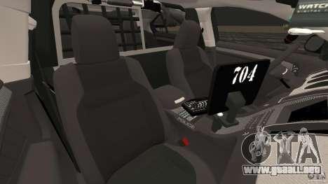 Ford Taurus 2010 Atlanta Police [ELS] para GTA 4 vista interior