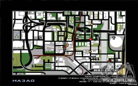 west coast coustoms para GTA San Andreas tercera pantalla