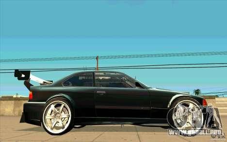 NFS:MW Wheel Pack para GTA San Andreas novena de pantalla