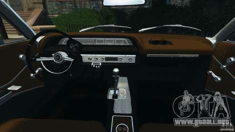 Chevrolet Impala SS 1964 para GTA 4 vista hacia atrás