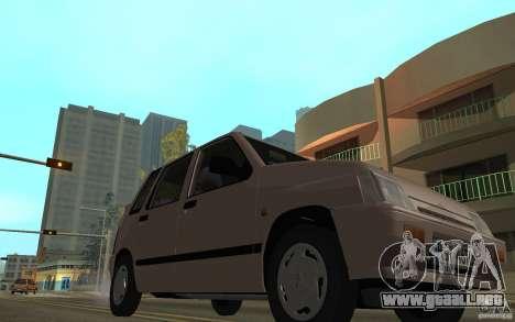 Daewoo Tico SX para vista lateral GTA San Andreas