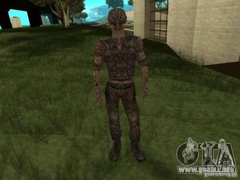 Snork de S.T.A.L.K.E. r para GTA San Andreas sucesivamente de pantalla
