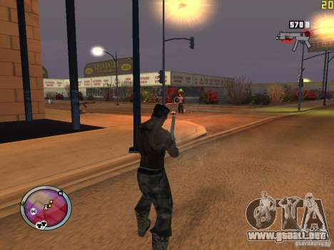 Nueva zona GANGSTER para GTA San Andreas undécima de pantalla