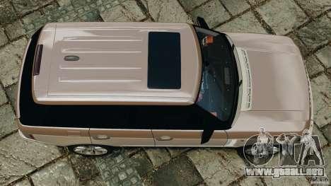 Range Rover Supercharged 2008 para GTA 4 visión correcta