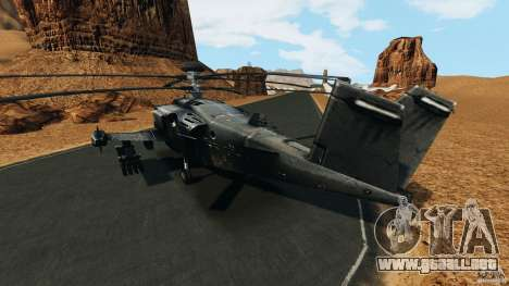 KA-50 Black Shark Modified para GTA 4 Vista posterior izquierda