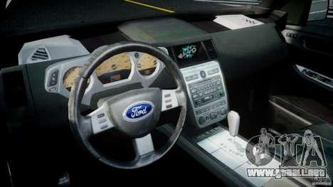 Ford Escape 2011 Hybrid Civilian Version v1.0 para GTA 4 visión correcta
