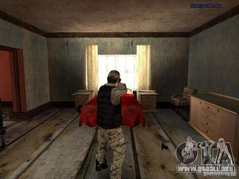Army Soldier Skin para GTA San Andreas sucesivamente de pantalla