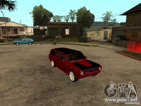 GAZ 24-12 para la visión correcta GTA San Andreas
