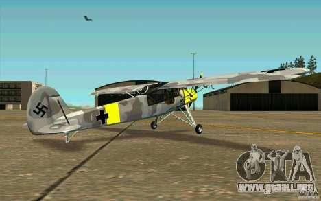 Fiesler Storch para la visión correcta GTA San Andreas