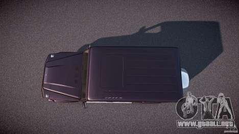Mercedes Benz G500 (W463) 2008 para GTA 4 visión correcta