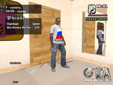 Fútbol Rusia para GTA San Andreas