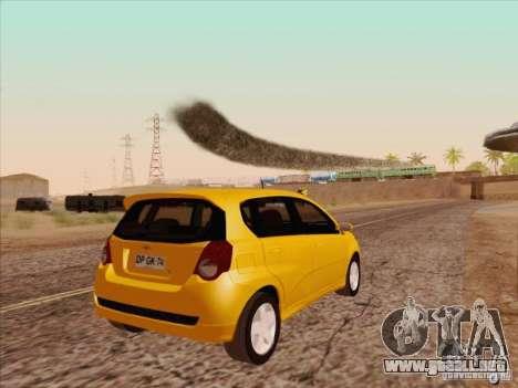 Chevrolet Aveo LT para la visión correcta GTA San Andreas