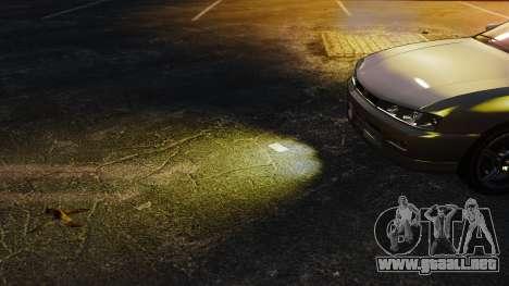 Luz luces amarillas para GTA 4