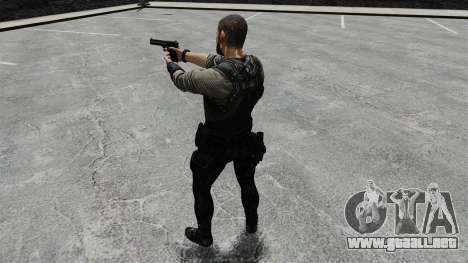 Sam Fisher v8 para GTA 4 quinta pantalla