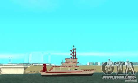 Vice City Ferryboat para GTA San Andreas left
