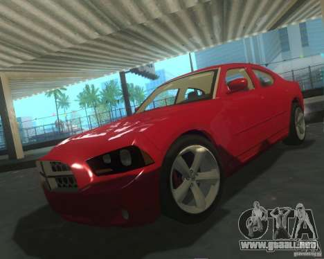 Dodge Charger 2011 para la vista superior GTA San Andreas