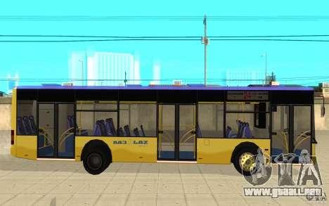 Laz-A183 ciudad Laz para GTA San Andreas left