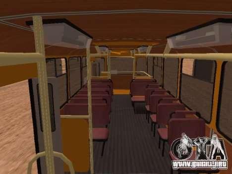 Scripts para Liaz 677 para GTA San Andreas segunda pantalla