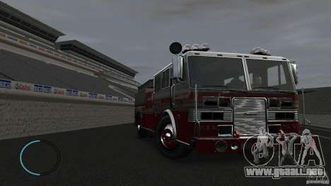 NEW Fire Truck para GTA 4 vista interior