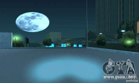 Lámparas de color neón para GTA San Andreas quinta pantalla