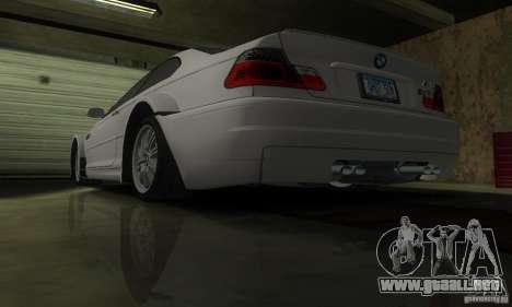 BMW M3 Tuneable para vista inferior GTA San Andreas