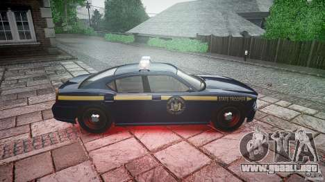 New York State Police Buffalo para GTA 4 vista interior