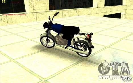 Ciclomotor: para la visión correcta GTA San Andreas
