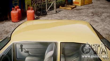 Fiat 126p 1976 para GTA 4 vista interior