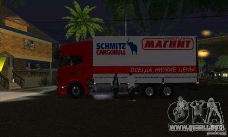 Scania R620 imán para GTA San Andreas left