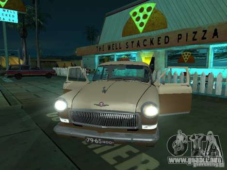 GAS M21T Taxi para visión interna GTA San Andreas