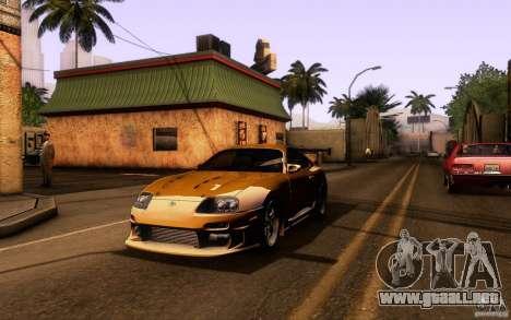 Toyota Supra Top Secret para GTA San Andreas