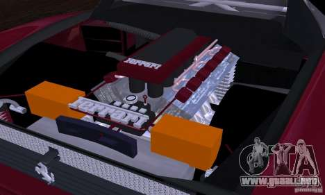 Ferrari 512 TR para GTA San Andreas interior