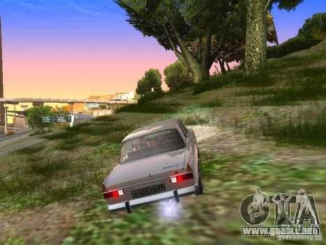 AZLK-412 para la visión correcta GTA San Andreas