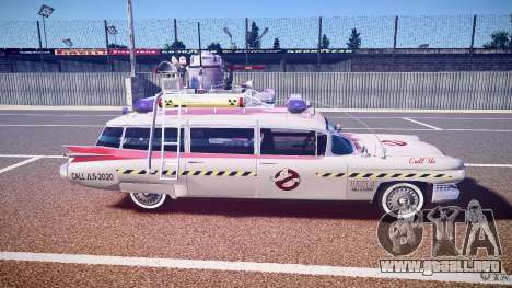 Ecto-1 (Cazafantasmas) Final para GTA 4 vista lateral